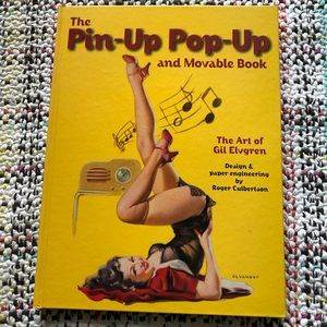 The pin-up pop-up book